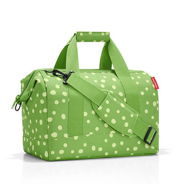 Чанта Allrounder M - Зелени точки